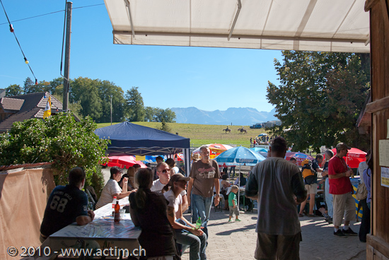 6th Working Cowhorse Day Riggisberg im Gantrisch-Gebiet.